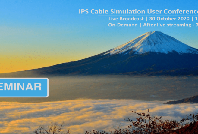 IPS Cable Simulation User Conference Japan 2020