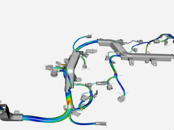 Webinar: Virtual validation of wiring harnesses and hoses